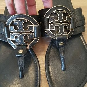 Tory Burch Landies size 6.5 Leather Sandals